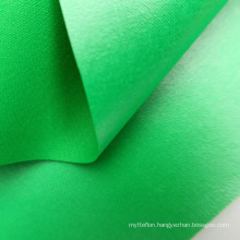 Wear Resisting And Anti-flaming Green 150D Polyester Laminating PVC Film Outdoor Fabric For Tent