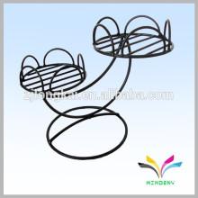 China-Lieferantenqualitätsgroßverkauf antike fantastische dekorative Metallgarten-Eckblumentopfstandplatz für Hochzeit