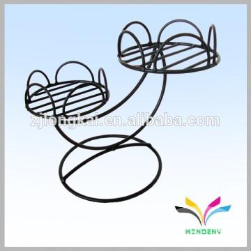China supplier high quality wholesale antique fancy decorative metal garden corner flower pot stand for wedding