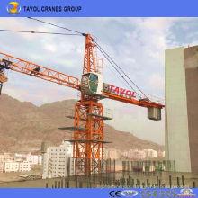 Qtz63 5010 China Equipamento de construção de fornecedores Grua de torre
