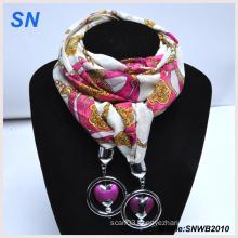 2014 Women Fashion Pendant Jewelry Scarf (SNWB2010)