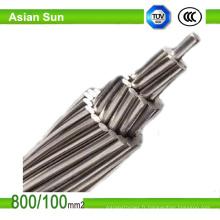 Câble en acier galvanisé par conducteur aérien en aluminium 30/7 125/30 ACSR renforcé