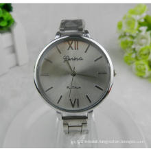 Yxl-802 Hot and Cheap Sales Woman Brand Luxury Gold Slim Grid Band Precise Quartz Movement Lady Fashion Watch