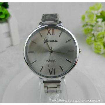 Yxl-802 Hot and Cheap Sales Woman Brand Luxury Gold Slim Grid Band Precise Quartz Movement Lady Fashion Watch