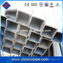 40Cr tubo de acero cuadrado soldado tubo de acero sin costura