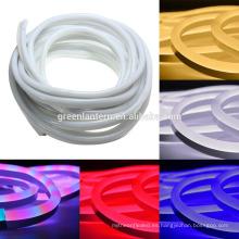 Luz de la cuerda de neón flexible al aire libre cambiante impermeable de alta calidad de la luz LED