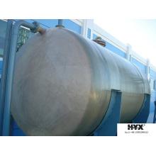 Réservoir horizontal FRP pour produits chimiques