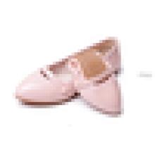 Frauen-flache Fersen-Tanz-Schuh-Großhandelsdamen rollen oben Kleid-Schuhe