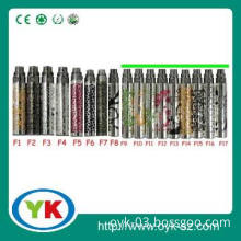 Electronic cigarette Ego-F battery with high quality