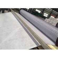 Nonwoven Geotextile के साथ वेल्डेड पीपी Biaxial Geogrid