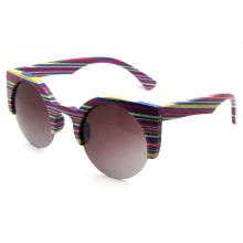 Gafas de sol de moda de madera (sz5688-1)