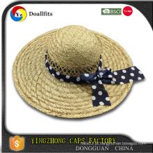 De Boa Qualidade 2015 chapéu de palha de algodão chapéu 2015 moda feltro chapéu em branco planície
