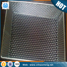 50cm stainless steel storage mesh basket for vegetable