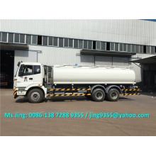 De buena calidad Foton 6x4 fuel tanker capacidad 20-25 m3 camión cisterna de combustible venta en Uzbekistán