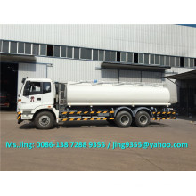 Good quality Foton 6x4 fuel tanker capacity 20-25 m3 fuel tanker truck sale in Uzbekistan