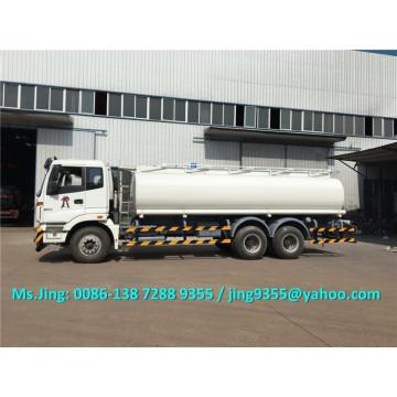 De boa qualidade Foton 6x4 fuel tanker capacidade 20-25 m3 fuel tanker truck venda no Uzbequistão