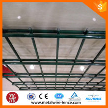 Cheap galvanized welded double wire mesh fence factory