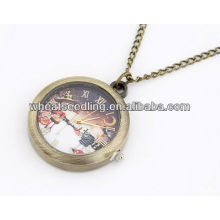 2013 Fashion Christmas Design Necklace Pocket Watch 11032562