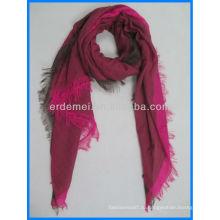 Оптовый нить окрашенный полиэфирный шарф вуали