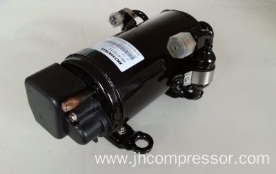 Boyard inverter rotary energy refrigeration r134a electric for Air compressor for pool closing