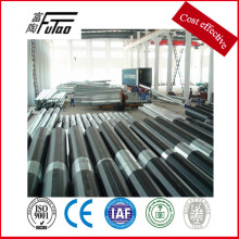 Leading for Electric Power Poles, Terminal Steel Electric Pole Wholesale From China Electric Steel Power Distribution Pole export to Mauritania Factory