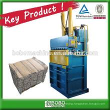 Hydraulic carton baling packing machine