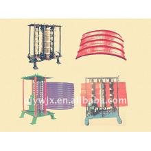 Normale farbige Stahlblech-Standardrolle, die Maschine bildet