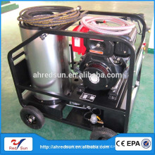 4000PSI gasoline hot water high pressure cleaner