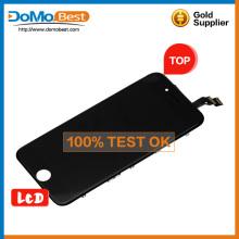 Exhibición del lcd del producto ventas caliente para Asamblea del digitizador 6 iphone con precio barato