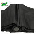 billige 3-fach-Werbung j Griff winddichter schwarzer handgeöffneter Regenschirm