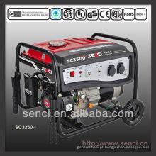 3100 watts SC3500-I 50Hz gerador portátil de gasolina de fase única
