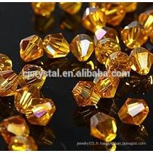 Vente en gros de perles de bicône en cristal de 8mm en gros