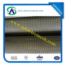 Maschendraht-Förderband für Metallheißbehandlung, trocknend, waschend, Tunnel-Ofen