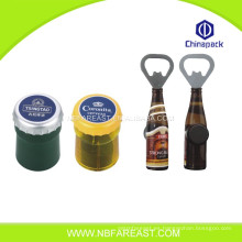 Promoción personalizado de impresión de botella de cerveza personalizada abre