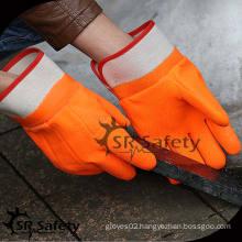 SRSAFETY gloves coating pvc