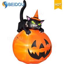 Inflatable Halloween Décorations Skeleton Inflatable Halloween Black Cat