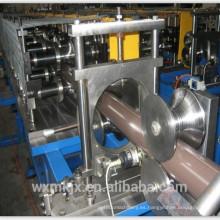 Máquina formadora de rollos de bajada