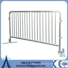 Feuerverzinkter Stahl dekorative Sicherheitskontrolle Fußgänger Barrieren