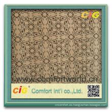 Forme la tela colorida colorida de la multitud del poliéster de la materia textil de los productos del hogar nuevo para el sofá