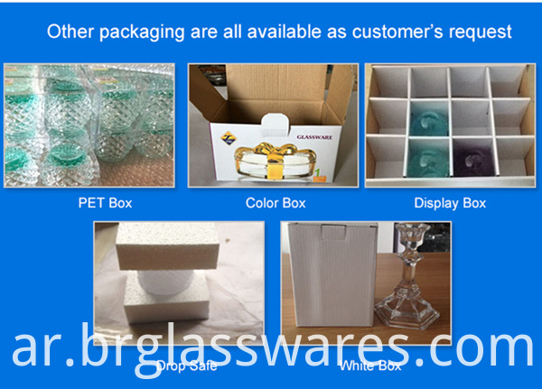 goblet glass cup other packing