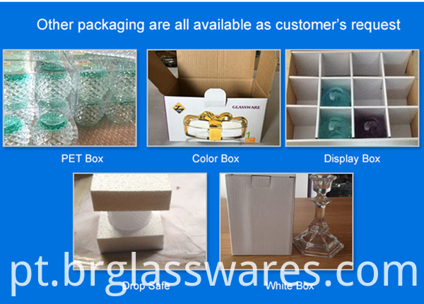 glass water cup other packing