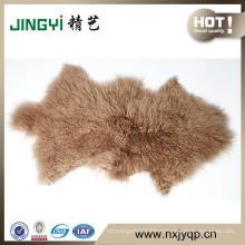 SemireductiveTibetLamb Fur Wool Skin