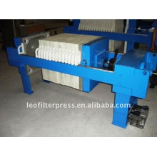 Leo Filter Pres 630 Manual Operation Filter Press Machine