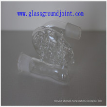 Borosilicate Glass Water Pipe with Ground Joints