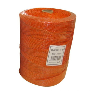 Anti-Vermin Electric Fencing Rope Manufacturer for Japan Orange Color Roll Pack 3 Stainless Steel