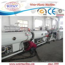 Ligne d'extrusion de production de tuyau de PE pour l'approvisionnement en eau de gaz pour l'usine de 15 ans