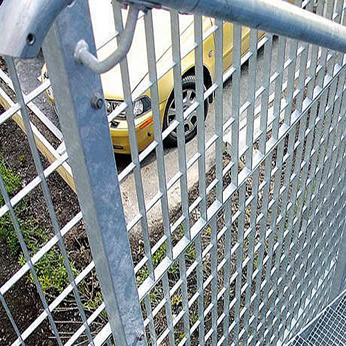 Steel Bar Grid Plug Fences