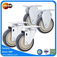 4 inch PU Hand Carry Cart Wheels