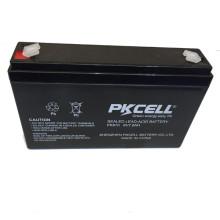 Batterie d'acide de plomb de PK-670 6v 7ah SLA et entretien de batterie d'AGM librement