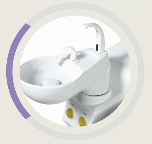 Dental Chair Hygiene ceramic spittoon